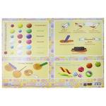 Коврик Economix для детского творчества Лепим из пластилина CF61480-04 - купить, цены на МегаМаркет - фото 1