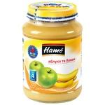 Пюре Hame яблоко и банан 190г
