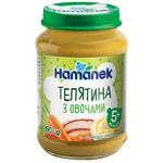 Пюре Hamanek Телятина з овочами 190г