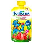 Hamanek Apple with Strawberry Puree 120g