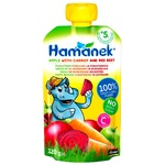 Hamanek Pear with Carrot and Beetroot Puree 120g
