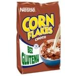 Готовий сухий сніданок NESTLÉ® CHOCO CORN FLAKES з какао без глютену 450г