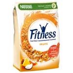 Готовий сухий сніданок NESTLÉ® FITNESS®&Fruits з цільної пшениці з фруктами 400г