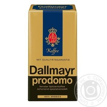 Кофе Dallmayr Продомо 100% Арабика молотый 500г - купить, цены на Novus - фото 1