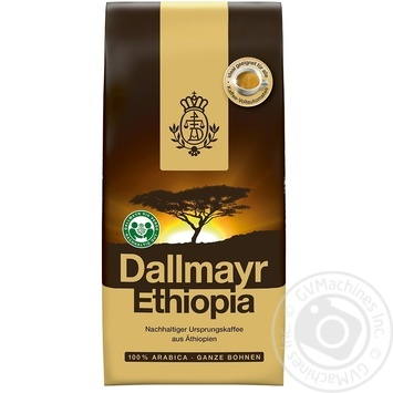 Dallmayr Ethiopia Coffee  fried beans 500g - buy, prices for MegaMarket - image 1