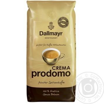 Dallmayr crema prodomo in grains coffee 1000g - buy, prices for MegaMarket - image 1