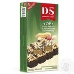 Торт вафельный Домашне свято Ореховый в шоколадной глазури 200г