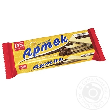 Вафли Домашне свято Артек с вкусом шоколада 70г