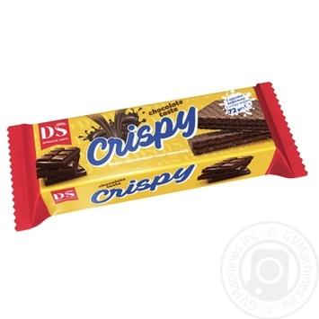 Вафли Домашне свято Crispy Хрустяшка со вкусом шоколада 72г