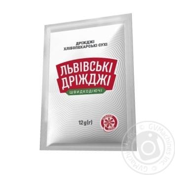 Lvivski Drizhdzhi Dry Yeast 12g - buy, prices for MegaMarket - image 1