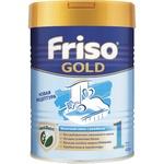 Суха адаптована початкова молочна суміш Friso Gold 1 Lock Nutri для дитячого харчування з народження до 6 місяців 400г