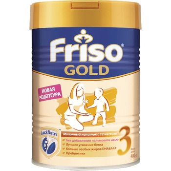 Substitute for breast milk Friso dry for children from 1 year 400g can Holland - buy, prices for CityMarket - photo 1