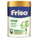 Суха молочна суміш Friso VOM 1 COMFORT для дітей від 0 до 6 місяців зі зригуваннями, кольками і закрепами 400г