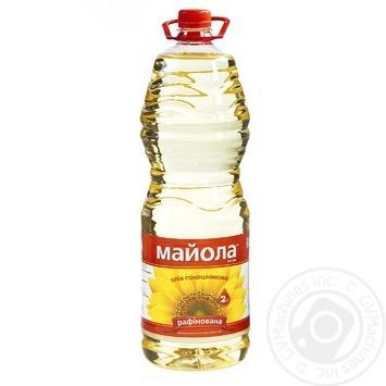 Масло Майола экстра подсолнечное рафинированное 2л