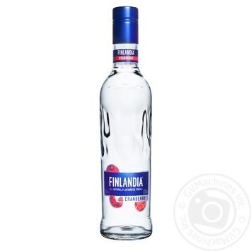 Водка Finlandia Клюква белая 37.5% 0,5л