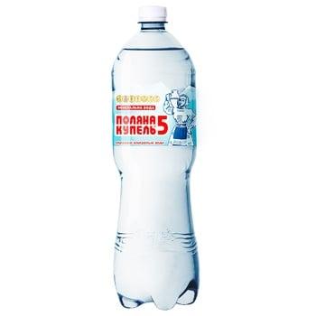 Вода Поляна Купель газированная лечебно-столовая 1,5л