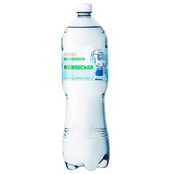 Вода Лужанская минеральная лечебная газированная 1,5л - купить, цены на СитиМаркет - фото 1