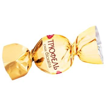 Конфеты АВК trueffle biscuit