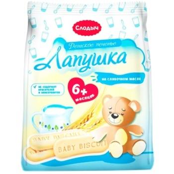Slodich Lapushka Children's Cookies 180g - buy, prices for CityMarket - photo 1