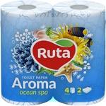 Ruta Aroma Toilet Paper Blue 4pcs