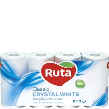 Ruta Classic Toilet Paper Two-layer 8pcs