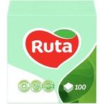 Paper napkins Ruta pink 1-ply 24*24cm 100pcs - buy, prices for  Vostorg - image 6