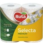 Ruta Select Toilet Paper Three-layer Chamomile 4pcs