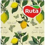 Салфетки Ruta Art Кухня Микс двухслойные 33х33см 20шт в ассортименте