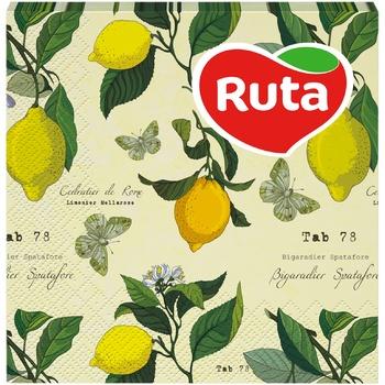 Салфетки Ruta Art Кухня Микс двухслойные 33х33см 20шт в ассортименте - купить, цены на ЕКО Маркет - фото 1