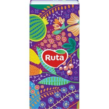 Paper handkerchiefs Ruta white with aloe aroma 3-ply 10pcs - buy, prices for  Vostorg - image 5