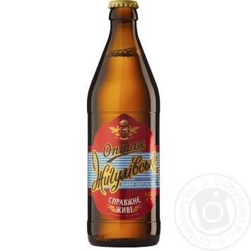 Пиво Опілля Жигулівське світле 0,5л