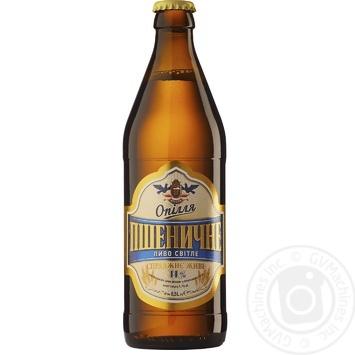 Пиво Опілля Пшеничне світле 4,1% 0,5л - купити, ціни на Фуршет - фото 1