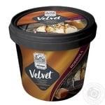 Мороженое Лимо Velvet Пломбир со вкус арахиса с наполнителем соленая карамель 300г