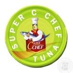 Тунец Super C Chef стейк в оливковом масле 185г