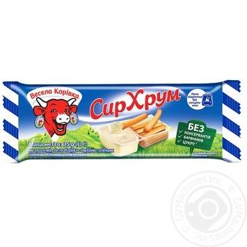 Vesela Korivka Processed Cream-Cheese With Bread Sticks 45% 35г - buy, prices for Furshet - image 4
