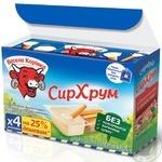 Vesela Korivka Soft cheese Dip & Crunch with breadsticks 45% 140g - buy, prices for Novus - image 2