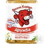 Сыр Веселая Коровка Дружба плавленный 50% 90г - купить, цены на Ашан - фото 5