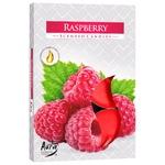 Bispol Raspberry Candle 6pcs