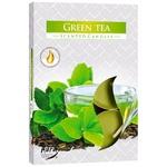 Свічка Bispol зелений чай 6шт