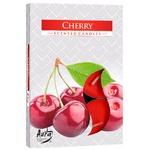 Bispol Cherry Candle 6pcs