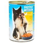 Консервы Reno для собак с мясом птицы 415г