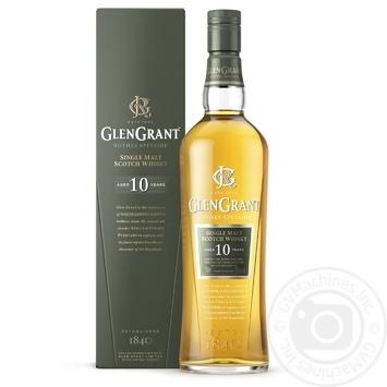 Виски Glen Grant 10 лет 40% 0,7л