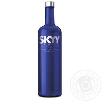 Горілка SKYY 40% 1,75л - купити, ціни на Novus - фото 1