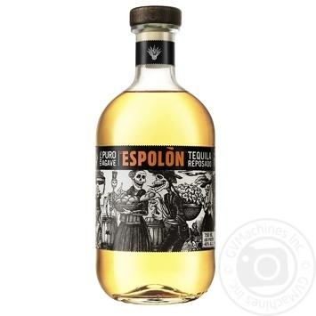 Текила Espolon Reposado 40% 0,75л - купить, цены на Ашан - фото 1