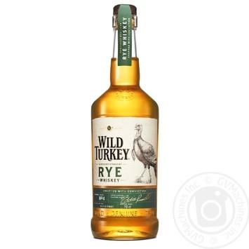 Виски Wild Turkey Rye бурбон 0,7л