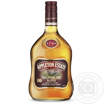 Appleton Estate Signature Blended Jamaica Rum - buy, prices for CityMarket - photo 1