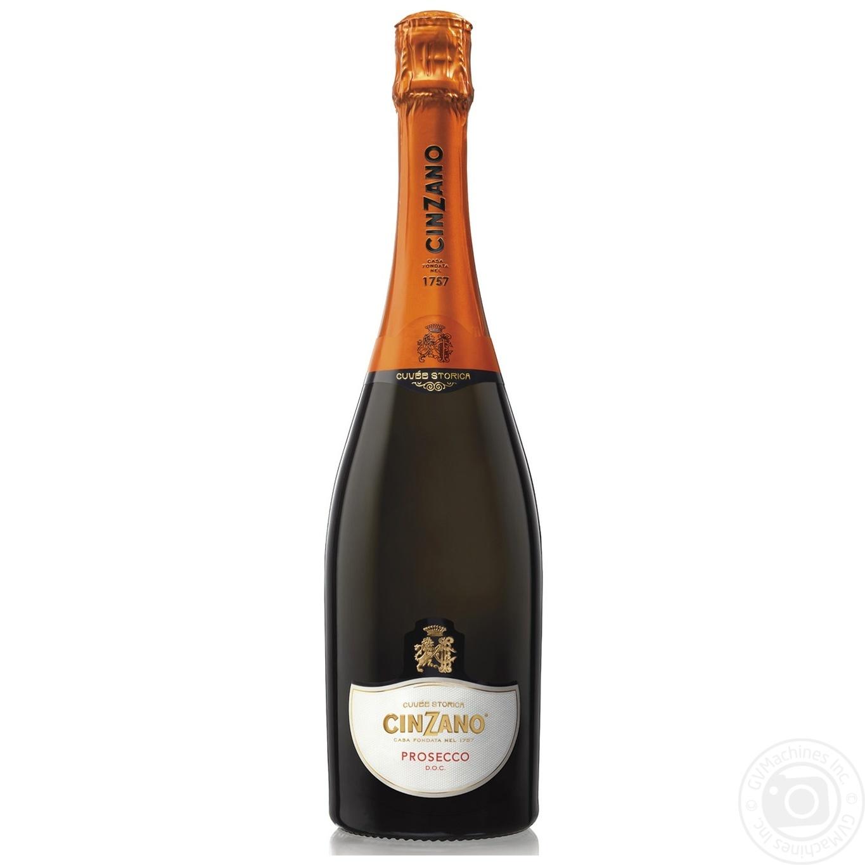 Купить 499676, Вино игристое Cinzano Prosecco белое сухое 11% 0, 75л