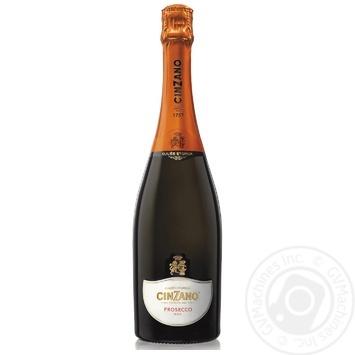 Вино игристое Cinzano Prosecco белое сухое 11% 0,75л