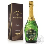 Вино игристое Mondoro Asti Dolce DOCG белое сладкое 7,5% 0,75л - купить, цены на Novus - фото 1