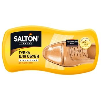 Salton Colorless For Smooth Leather Shoes Sponge